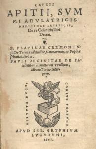 Livre de recette du XVIe siècle