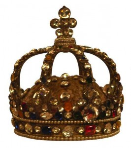 Couronne du sacre de Louis XV (photo : Roby)